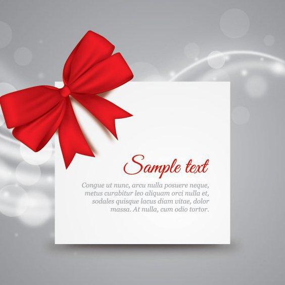 Nota de regalo - vector #209545 gratis