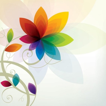 Summer Flower - vector gratuit #209605