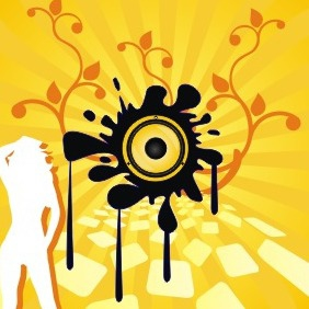 Music Background - vector #210075 gratis