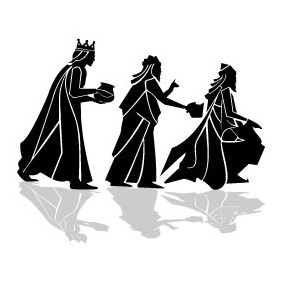 Three Kings Vector Image VP - vector #210095 gratis