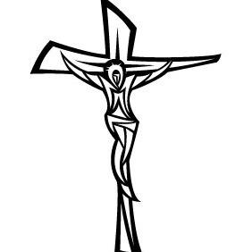 Jesus Christ Vector VP - vector gratuit #210105