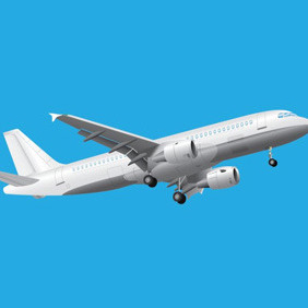 Vector Passenger Plane - Kostenloses vector #210175
