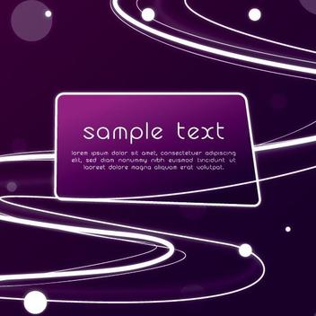 Purple Glow - vector #210295 gratis