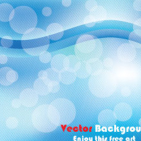 Enjoyable Blue Abstract Free Vector - vector gratuit #210435