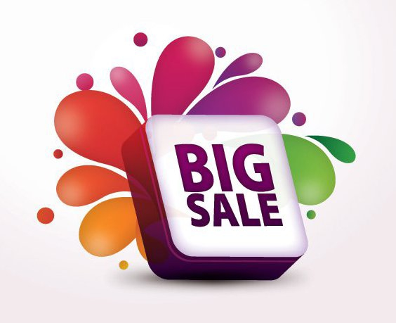 venda grande - Free vector #210575