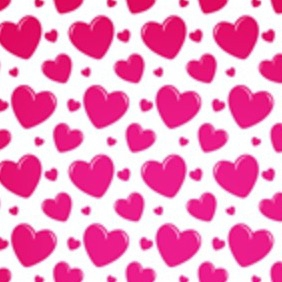 Transparent Heart Seamless Vector Pattern - Free vector #210585