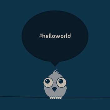Hello World - vector gratuit #210935