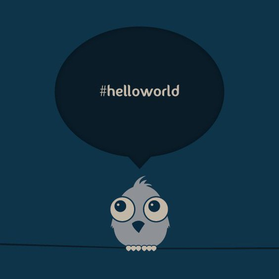 Hello World - Free vector #210935