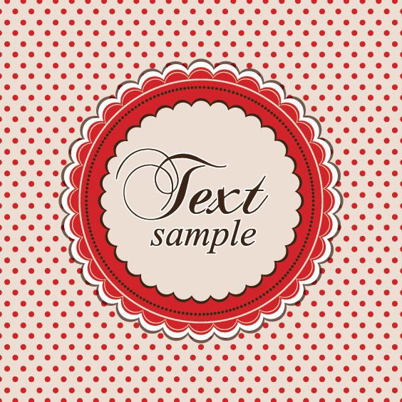Retro Card - Free vector #210985