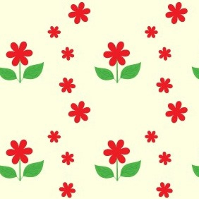Free Flower Pattern - Free vector #211445