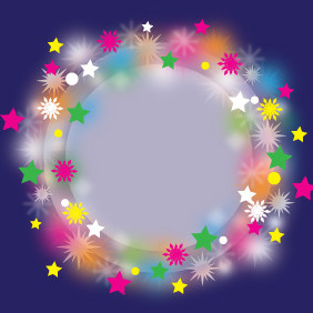Christmas Wreath - vector gratuit #211525