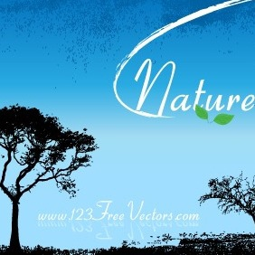 Nature Vector Wallpaper - Free vector #211775
