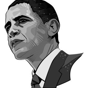 Barack Obama Vector Image - Free vector #211885