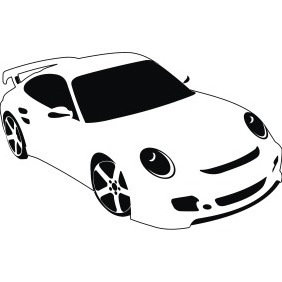 Sport Car - vector #212175 gratis