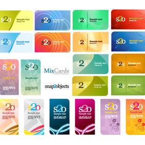 Free Vector Card Designs - Free vector #212295