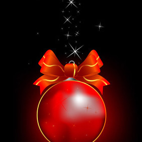 Christmas Sparkling Background - vector #212365 gratis
