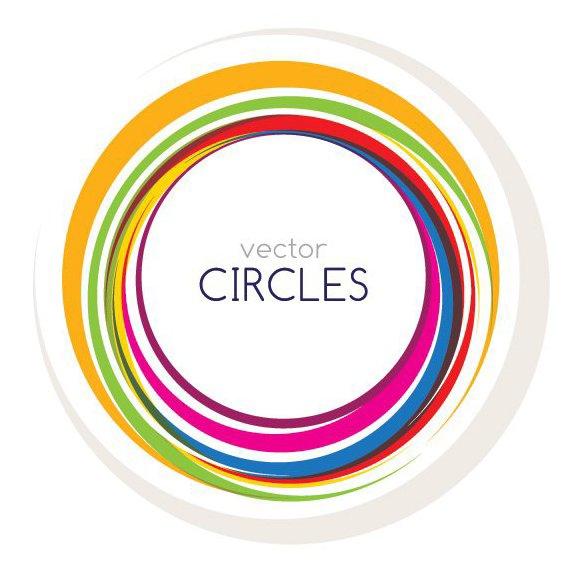 círculos Vector - vector #212635 gratis