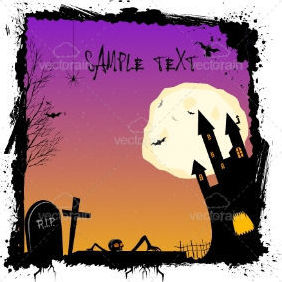 Illustration Of Halloween Night - Free vector #212645