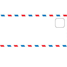 Envelope Edge Vector - vector #212675 gratis