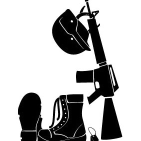Soldier Gear Vector - vector #212865 gratis