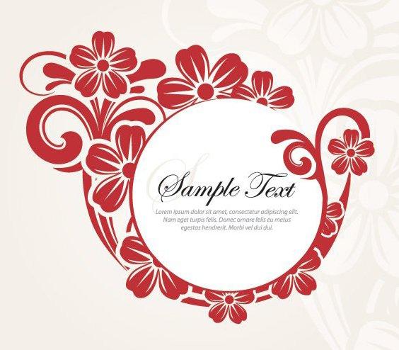 Diseño elegante de la flor - vector #212885 gratis