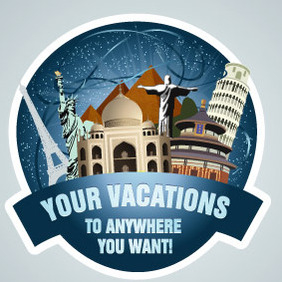 Travel Stamp - vector #213095 gratis