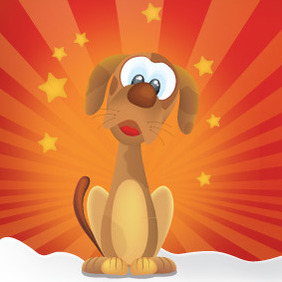 Cutty Dog - Free vector #213155