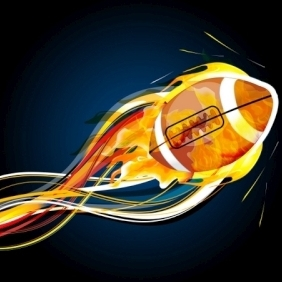 Abstract Rugby Ball - vector #213285 gratis