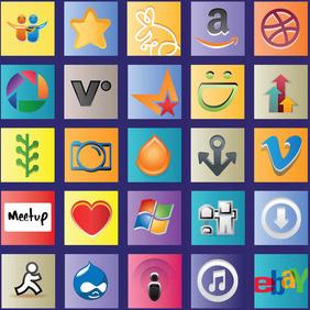 Social Media Vector Logos - Free vector #213585