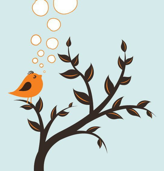 Spring Announcement - Free vector #213735