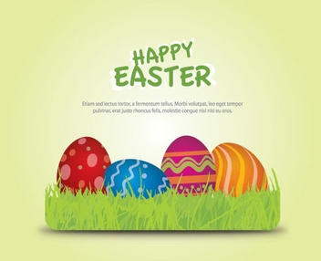 Happy Easter 2011 - vector gratuit #213775