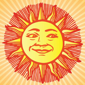 Sun - vector gratuit #213835