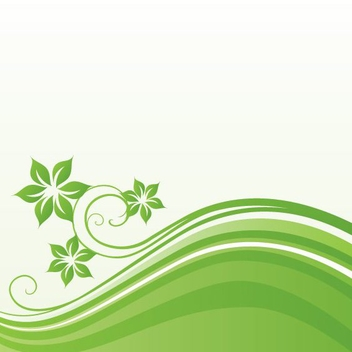 Green Field - vector gratuit #213925