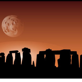 Stonehenge Vector - vector #214145 gratis