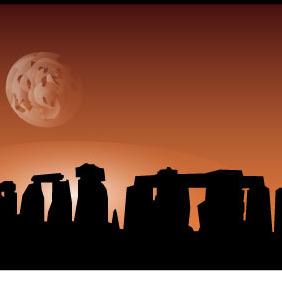 Stonehenge Vector - бесплатный vector #214145