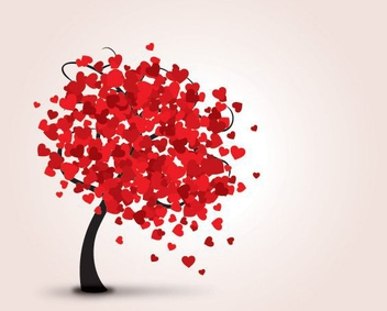 Lovely Tree - vector gratuit #214285