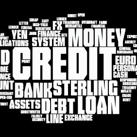 Financial Word Cloud - vector #214485 gratis
