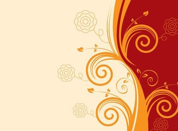 Swirly Background - vector gratuit #214535
