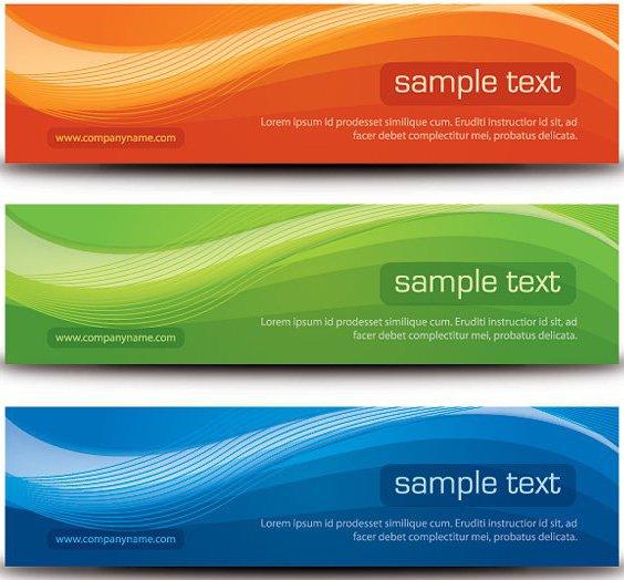 Banners con estilo - vector #214675 gratis