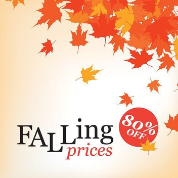 Falling Prices - vector #215075 gratis