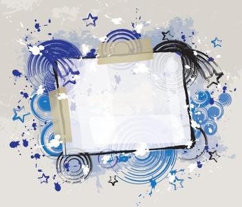 Grunge Style Banner - Kostenloses vector #215255