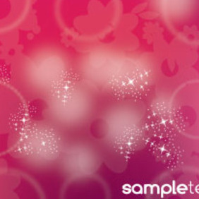 Floral Move Background Free Art Design - vector gratuit #215425