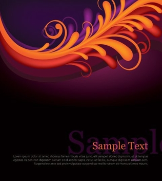 Beautiful Layout - vector gratuit #215465