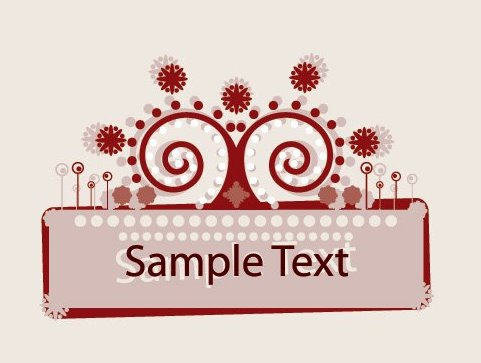 Ornament Frame - Free vector #215745