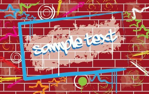 Graffiti Wall - Free vector #215845