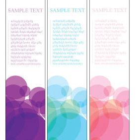 160x600 Banner Vector Template - Free vector #215885
