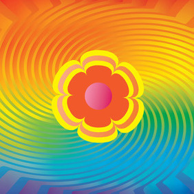 Rainbow Colors Vector - Free vector #215935