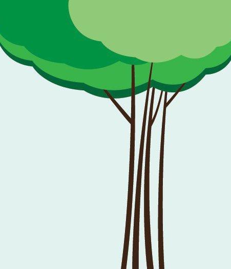 Wolke-Baum - Kostenloses vector #216235