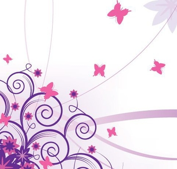 Flying Butterflies - Free vector #216595