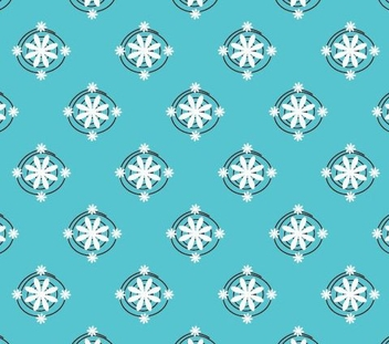 Seamless Wallpaper - vector #216815 gratis